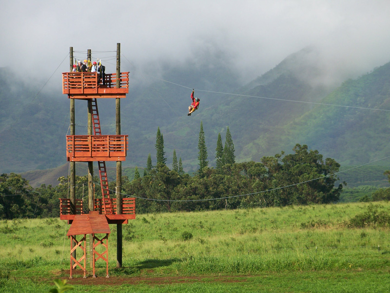 Zipline tours photo gallery zip kauai