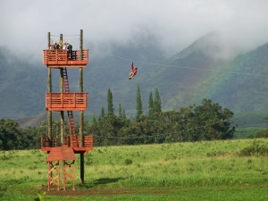 zip line tours in kauai