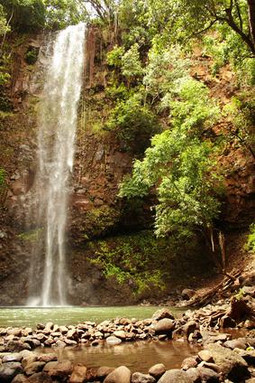 Secret Falls, Kauai, Hawaii