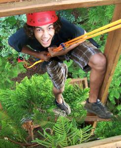 zipline in kauai