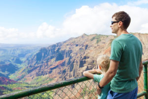 vacationing on kauai