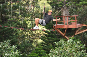 zipline tour in kauai