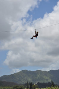 ziplining in kauai