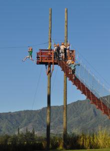 ziplining on kauai